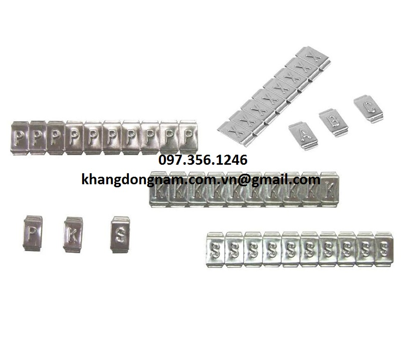 Chữ Đánh Dấu Cáp Inox SS316 Partex Cable Maker PKS10006PP (2)
