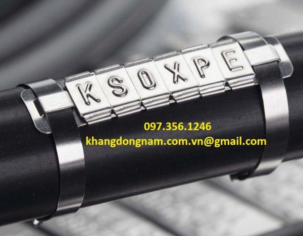 Chữ Đánh Dấu Cáp Inox SS316 Partex Cable Maker PKS10006PP (3)