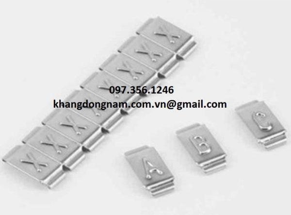 Chữ Đánh Dấu Cáp Inox SS316 Partex Cable Maker PKS10006PP (5)