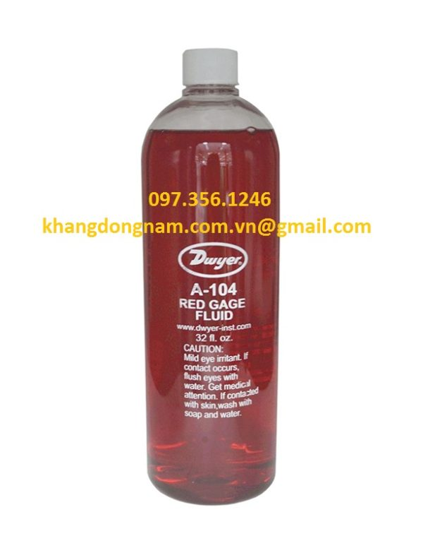 Dầu Đỏ Dwyer Red Gage Fluid 0.826 sp. gr (1)