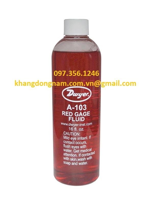 Dầu Đỏ Dwyer Red Gage Fluid 0.826 sp. gr (2)