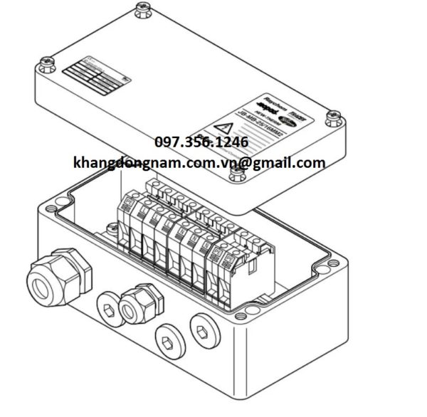 Hộp Điều Phối Raychem Marshalling Box JB-MB-25/16MM2 (3)