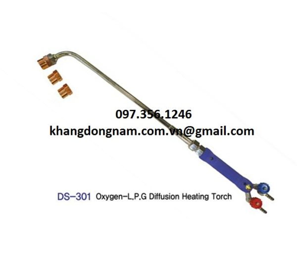 Mỏ Cắt Oxygen LPG Diffusion Heating Torch DS-301 (2)