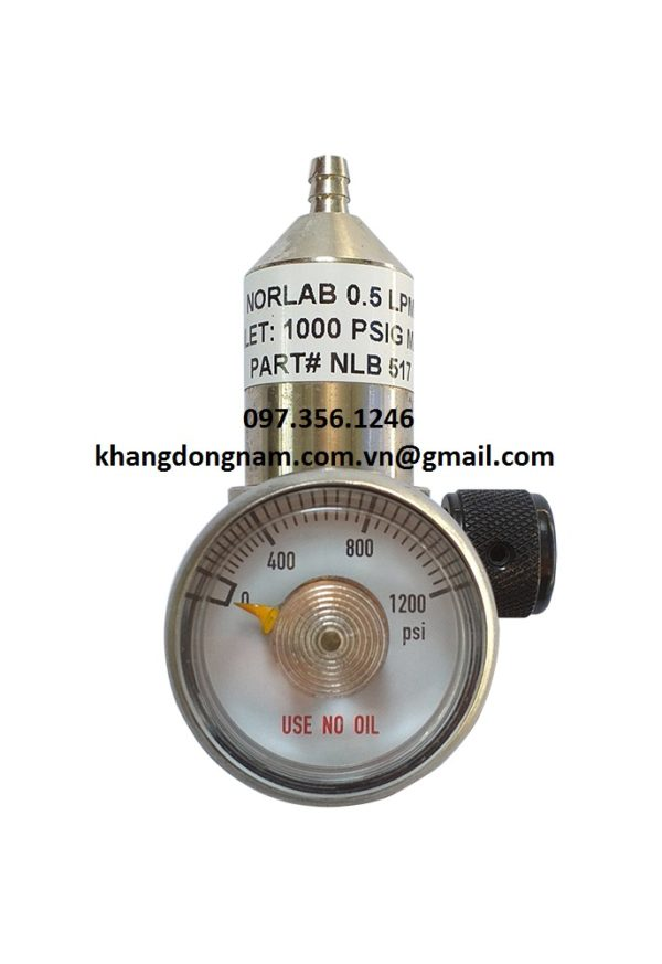 Van Điều Áp Calgaz Regulator Model NLB 517 (1)